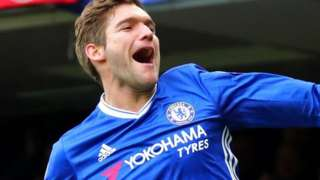 Chelsea's Marcos Alonso
