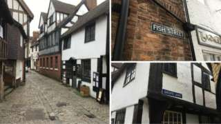 Shrewsbury streets