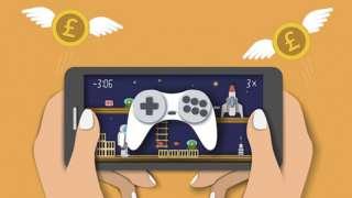 A mobile game illustration