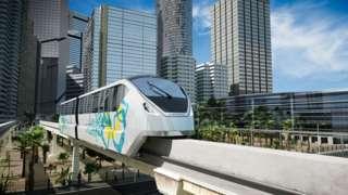 A monorail