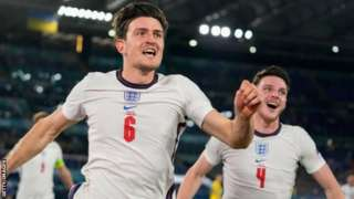 Harry Maguire đánh đầu tung lưới Ukraine ngay đầu hiệp 2