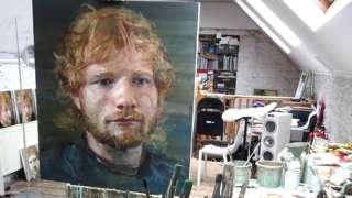 Colin Davidson's portraits of Ed Sheeran