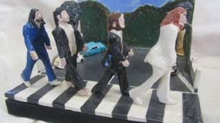 Ceramic version of Abbey Road by The Beatles