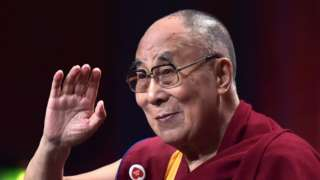 File photo taken on September 15, 2016 shows the spiritual leader of the Tibetan people, the Dalai Lama