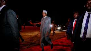 President Buhari return from Newy York