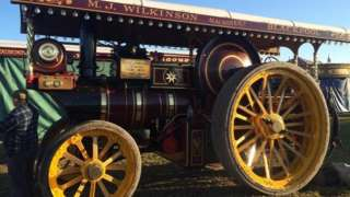 Showman steam engine