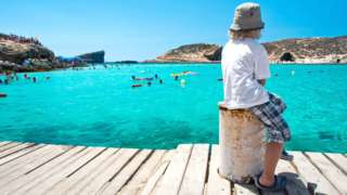 Waterfront in Malta