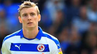 Jon Dadi Bodvarsson in action for Reading