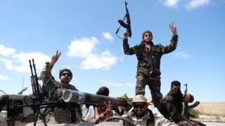 LNA forces in Libya - April 2019