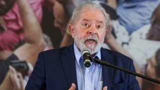 Lula em foto de maio de 2021