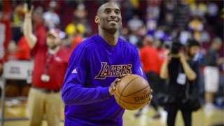 Bryant yari yaregukanye igikombe cya NBA inshuro eshanu ari kumwe n'ikipe imwe rukumbi yakiniye - Los Angeles Lakers
