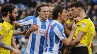 Huddersfield v Burton