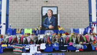 Tributes to those killed in the Leicester City helicopter crash