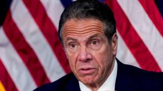 New York Governor Andrew Cuomo speaks during a news conference, in New York, U.S., May 10, 2021.