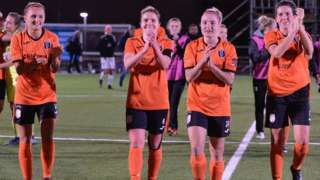 Glasgow City players