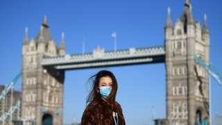 Лондон во время пандемии