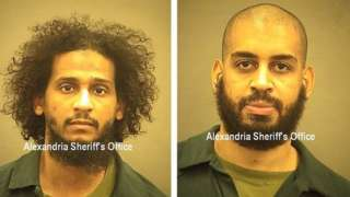El Shafee Elsheikh (l) and Alexanda Kotey (r) (picture from Alexandria Sheriff's Office