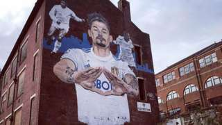 Kalvin Phillips mural created by Akse P19
