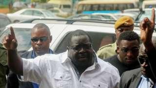 L'ancien ministre zambien Chishimba Kambwili