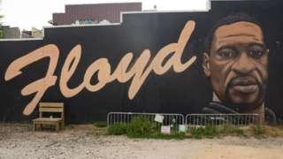 George Floyd mural in Atlanta