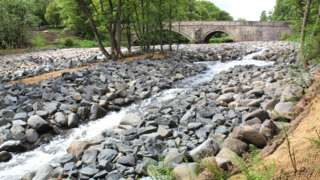 Howden Bridge Weir