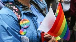 Une Gay pride en Pologne