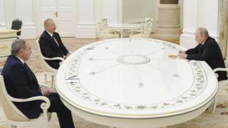 Пашинян, Алиев, Путин
