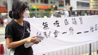 陈嘉琳表示会继续社区工作。