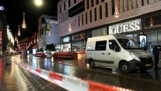 Site of the attack in the Grote Marktstraat in The Hague