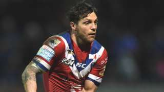 Scott Grix in action for Wakefield Trinity