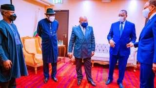 Awọn olori ajọ ECOWAS