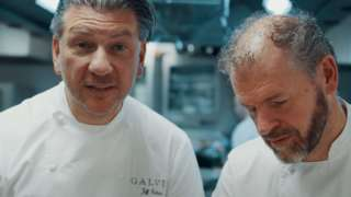 Chefs Jeff (left) and Chris Galvin
