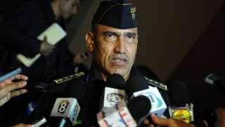 National Director of Police in Honduras, Juan Carlos Bonilla, on 24 May 2012
