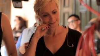 US cinematographer Halyna Hutchinson