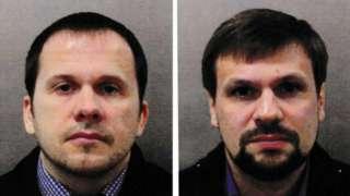 """""""Alexander Petrov"""" (left) and """"Ruslan Boshirov"""""""