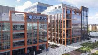 Barclays campus in Glasgow