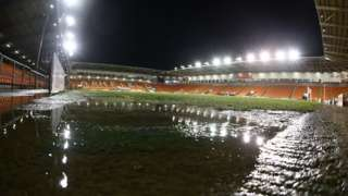 Blackpool's Bloomfield Road ground