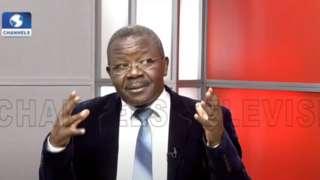 Olawunmi ontop di Channels TV programme