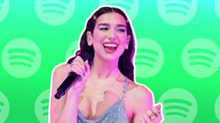 Singer Dua Lipa was among those whose pages were changed