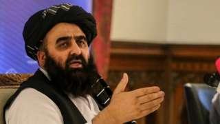 Назначенный талибами министр иностранных дел Афганистана Амир Хан Муттаки