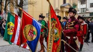 Урочисте святкування річниці Угорської революції у Берегово