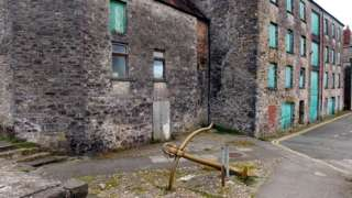 Warehouses on Quay Street, Haverfordwest