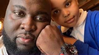 Philip Kudjoe and his daughter Kyra