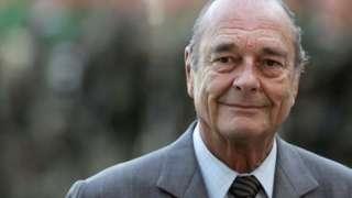 Aliyekuwa rais wa Ufaransa Jacques Chirac