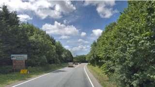 A361 near Landkey, North Devon