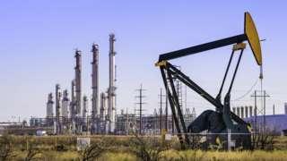An oil plant