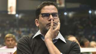 oll strategist Prashant Kishore during the launch of upcoming Municipality Election campaign 'Banglar Garbo Mamata' by Chief Minister of West Bengal and Trinamool Congress (TMC) Supremo Mamata Banerjee at Netaji Indoor Stadium in presence of TMC MLAs and councillors on March 2, 2020 in Kolkata,