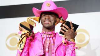 Lil Nas X at the Grammys