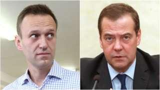 Навальный vs Медведев