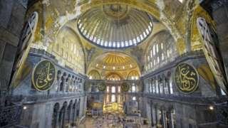 圣索菲亚大教堂内部